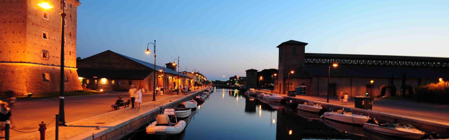 Il porto canale di Cervia e i suoi depositi di sale