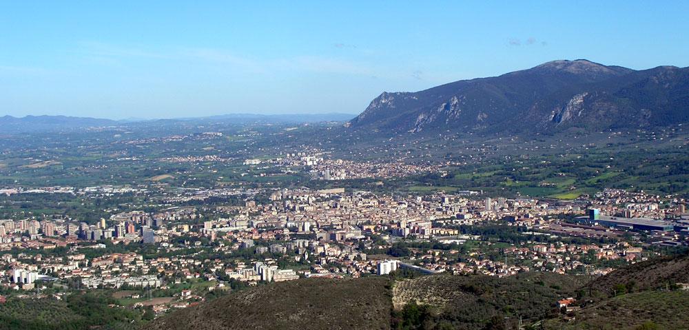 Il panorama di Terni