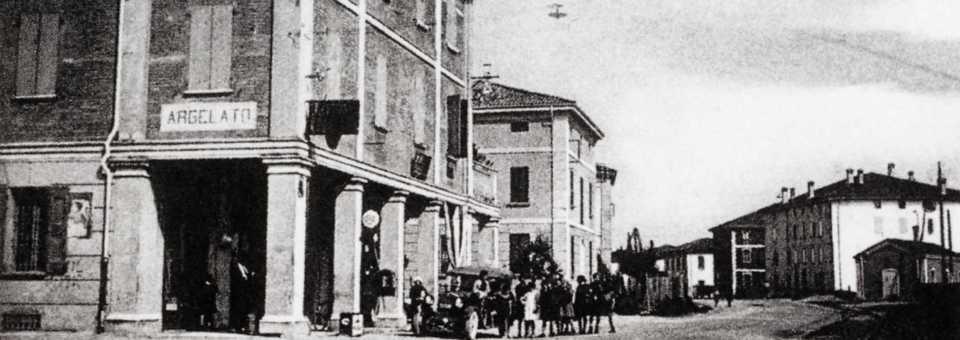 Una foto storica di Argelato
