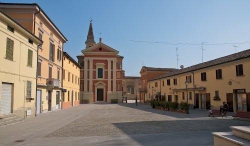 La Piazza Carducci di Baricella