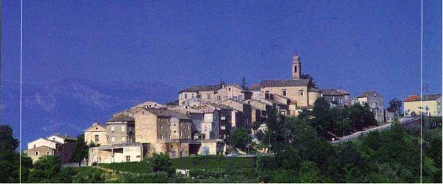 Panorama del borgo di Belmonte Piceno