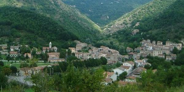 Panorama di Cantiano