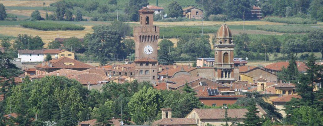 Il panorama di Castel san Pietro Terme
