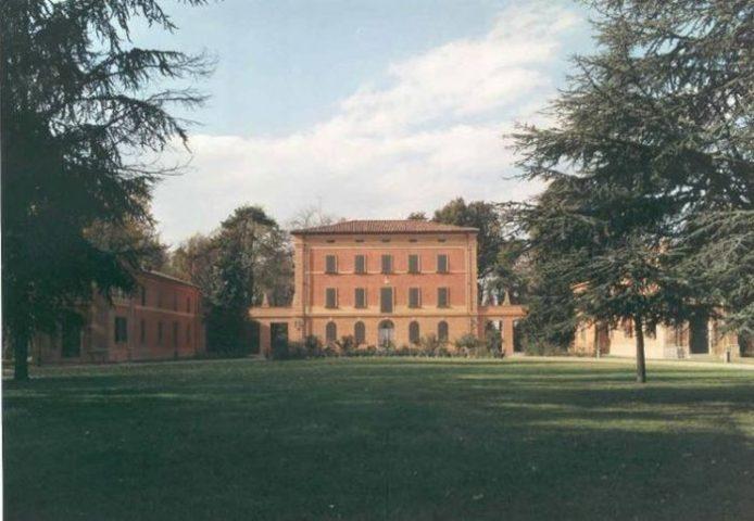 Il parco della Villa Salina di Castel Maggiore