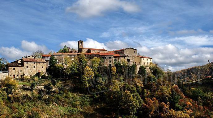 Il panorama di Casteldelci