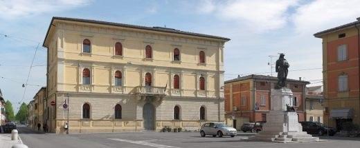 Il palazzo comunale di Castello d'Argile