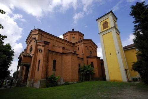 La chiesa della località Manara di Castenaso