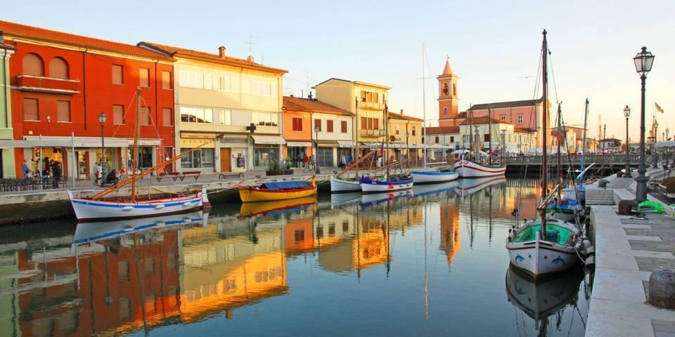 Porto canale antico di Cesenatico