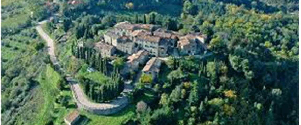 Panorama di Gaiole in Chianti