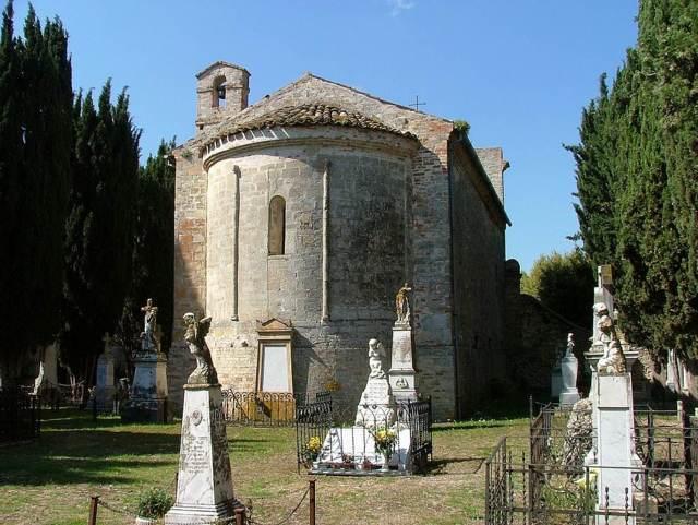 Lapedona e la chiesa di San Pietro al cimitero