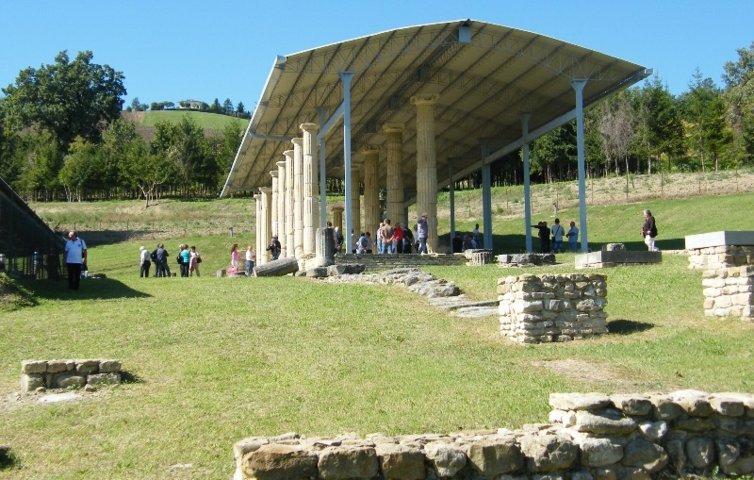 Cuna dell'area archeologica di Monte Rinaldo