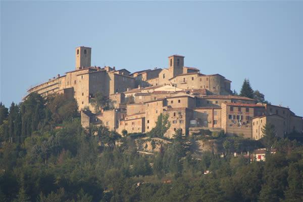 Panorama di Monte Santa Maria Tiberina