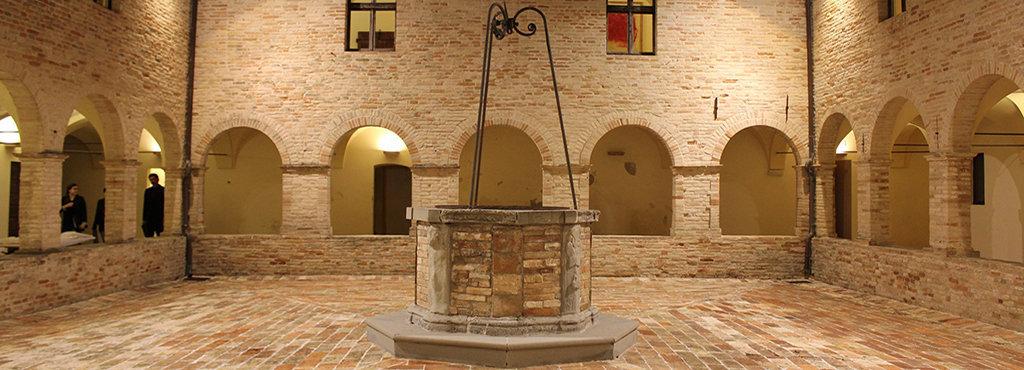 Interno del Palazzo comunale di Monteciccardo