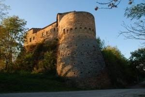 torrione e castello della rocca malatestiana di Montelabbate