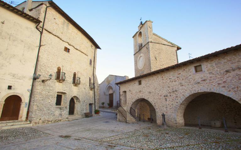 Particolare borgo di Monteleone di Spoleto