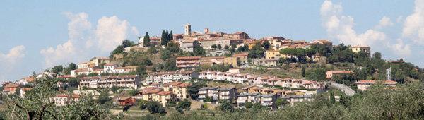 Il panorama del borgo di Montiano