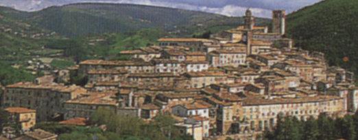 Panorama di Nocera Umbra