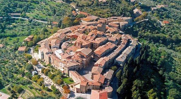 Panorama del borgo di Panicale