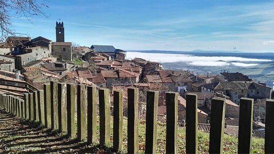 Panorama di Piancastagnaio