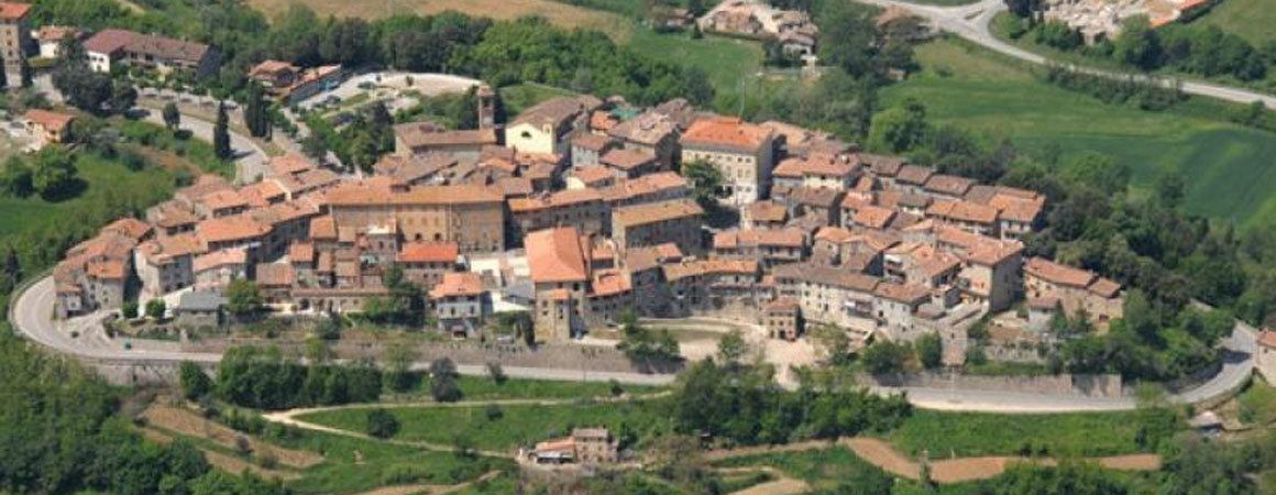 Foto aerea di Piegaro