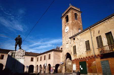 La torre di San Giovanni in Marignano
