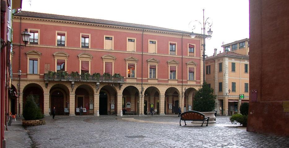Il centro di San Giovanni in Persiceto