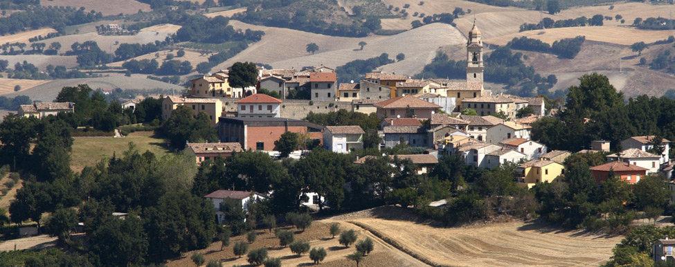 Panorama del borgo di Sant'Ippolito