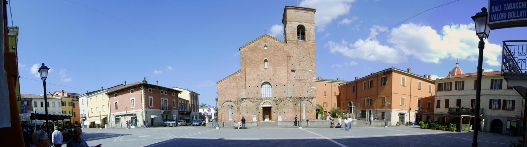 La Piazza Plauto di Sarsina