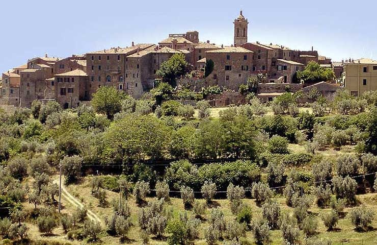 Borgo fortificato di Torrita di Siena