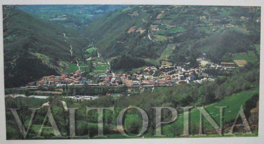 Panorama della vallata di Valtopina