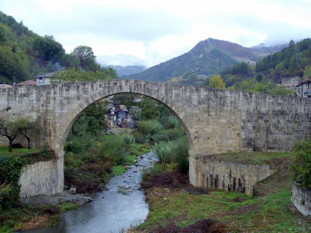 Il ponte Darli di Acquasanta Terme