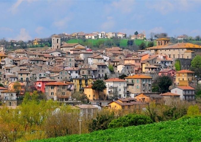 Il panorama del borgo di Acquasparta