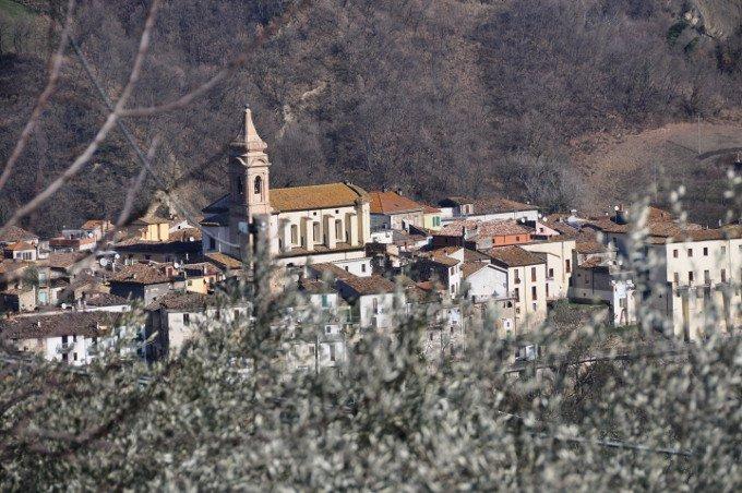 Il castello Bacucco di Arsita