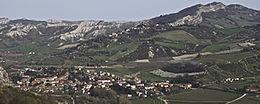 Il panorama di Borgo Tossignano