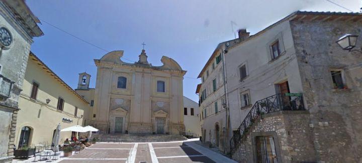 Uno scorcio del borgo di Calvi dell'Umbria