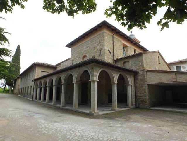 Il convento Colfano di Camporotondo di Fiastrone