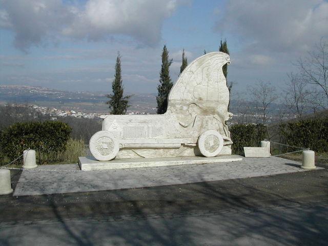 Il monumento della Coppa Acerbo di Cappelle sul Tavo