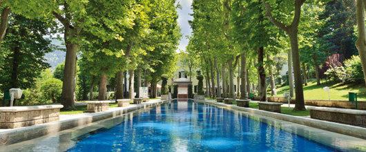 Le acque termali di Caramanico Terme
