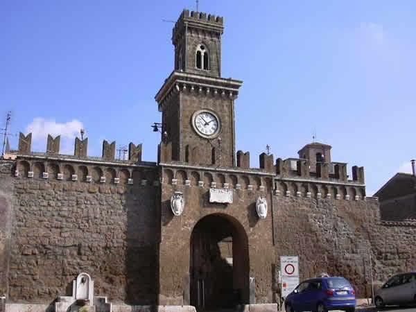 Il castello di Castel sant'Elia