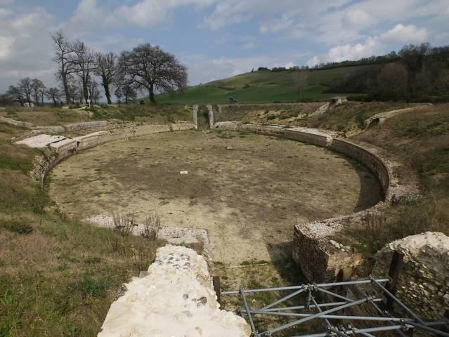 Il parco archeologico di Castelleone di Suasa