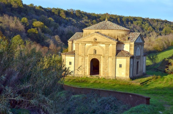 La chiesa di Sant'Egidio di Cellere