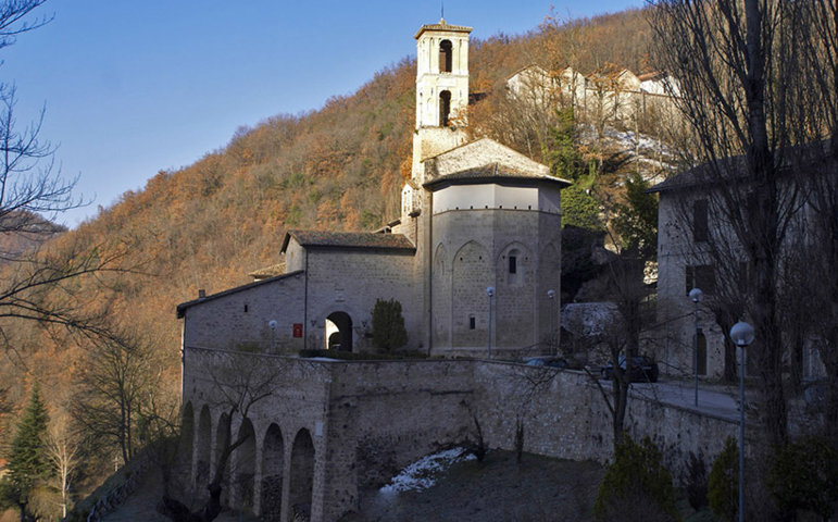 L'Abbazia San Salvatore di Cessapalombo