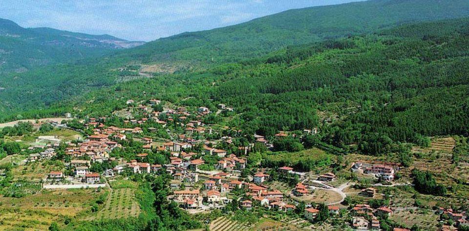 Il panorama del borgo di Chitignano