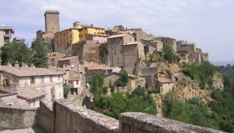 Il panorama del borgo di Civitella d'Agliano