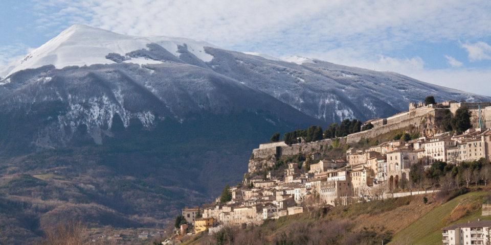 Panorama del borgo di Civitella del Tronto