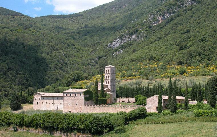 L'Abbazia di San Pietro in Valle di Ferentillo
