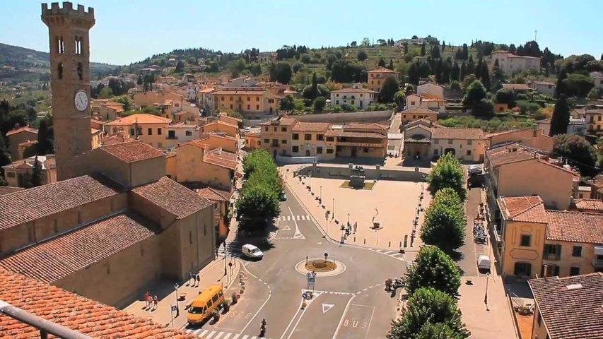 Uno scorcio del borgo storico di Fiesole