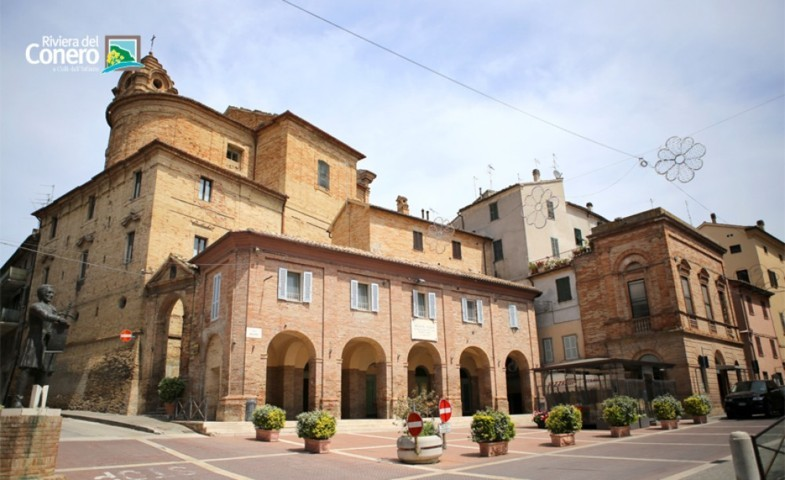 Il centro storico di Filottrano