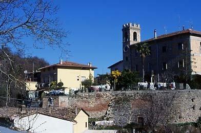 Il castello di Folignano
