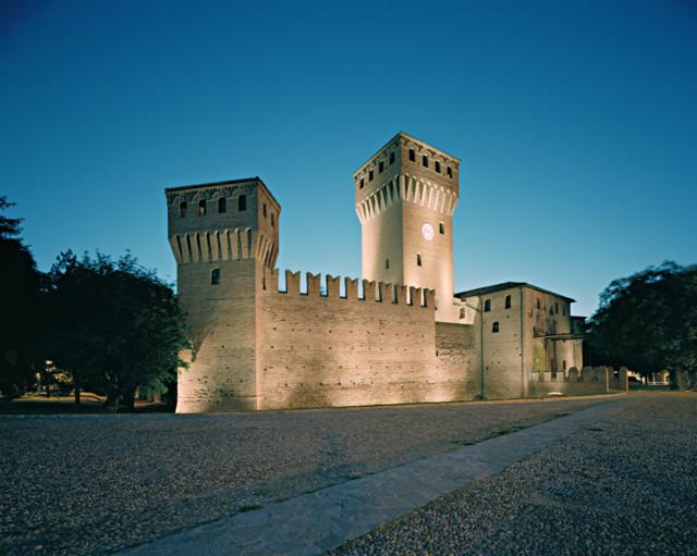 Uno scorcio del Castello di Formigine